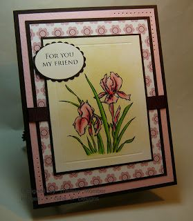 Theresa Momber : Crafting The Web: Stamp TV is Here! - 2/19/09.  (Gina K. stamp: Elegant Flowers).