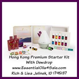 Hong Kong Premium Starter Kit With Dewdrop www.EssentialOils4Sale.com