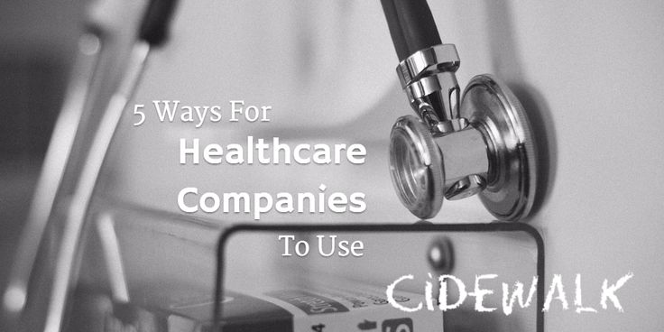5 Ways For Healthcare Companies To Use Cidewalk  https://www.cidewalk.com/blog/5-ways-for-healthcare-companies-to-use-cidewalk