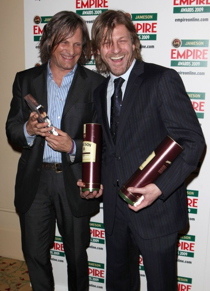 Viggo Mortensen and Sean Bean