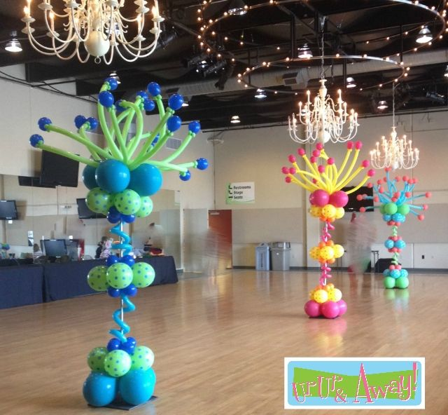 Best 25 balloon columns ideas on pinterest balloon for Balloon decoration instructions