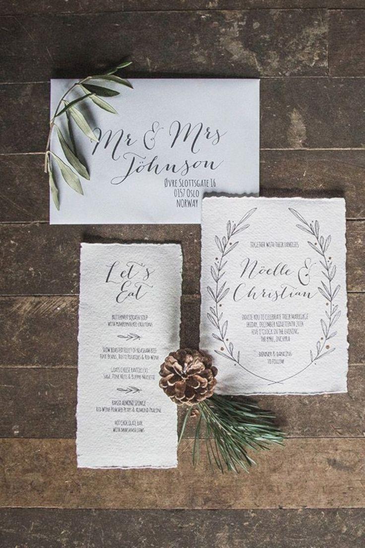 wedding invitations east london south africa%0A    Wonderful Winter Wedding Invitations Inspiration Ideas