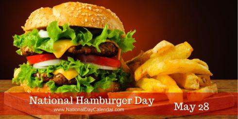 National Hamburger Day May 28