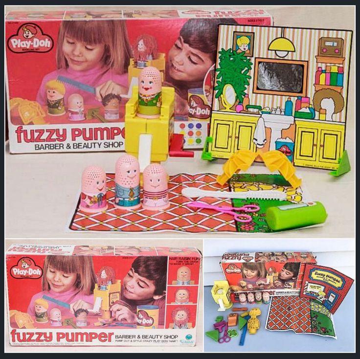Fuzzy Pumper Barber & Beauty Shop PlayDoh Sweet