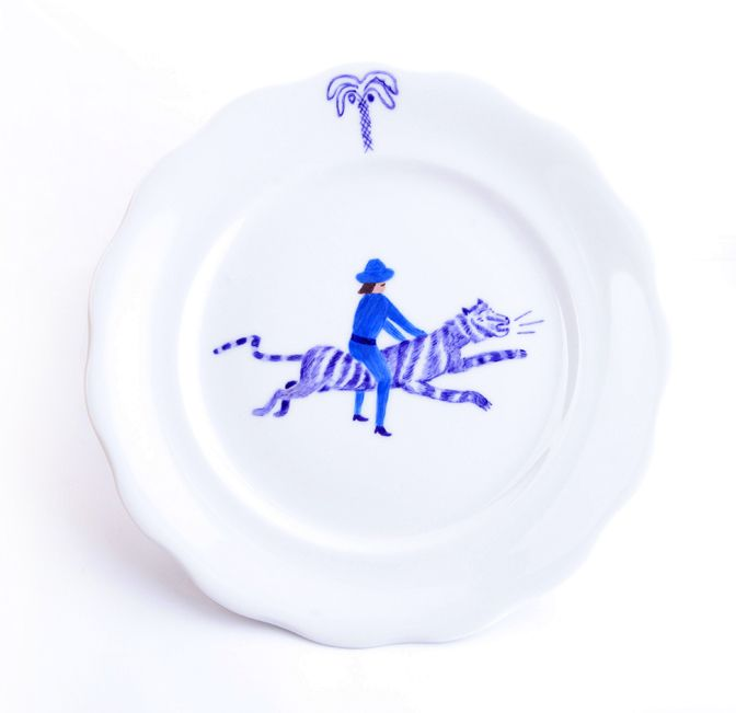 design by JAD | hand painted porcelain https://www.facebook.com/jad.dishes
