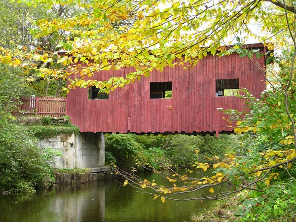 Vermont covered bridge