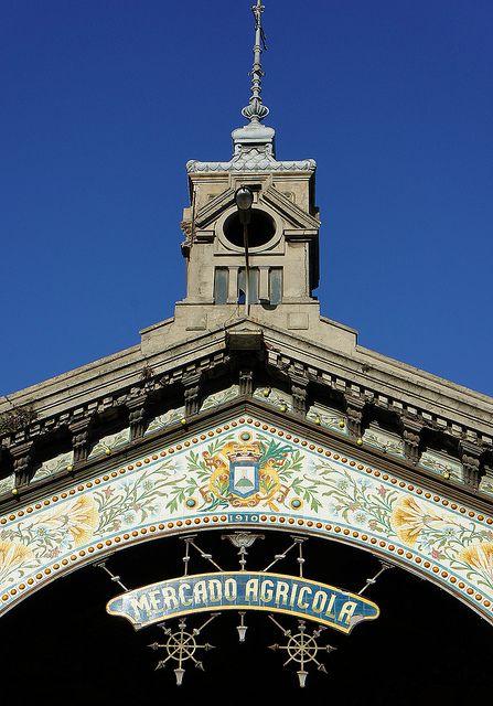 Mercado Agricola (City Market) founded in 1910 - Montevideo, Uruguay