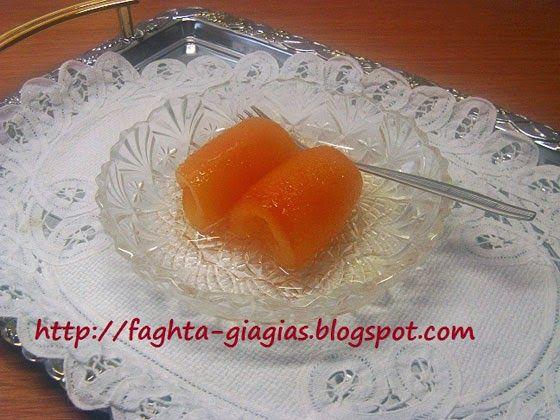 Πορτοκάλι φλούδες γλυκό του κουταλιού - Τα φαγητά της γιαγιάς