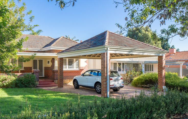 Double Brick Amp Tile Carport A In 2019 Carport Garage