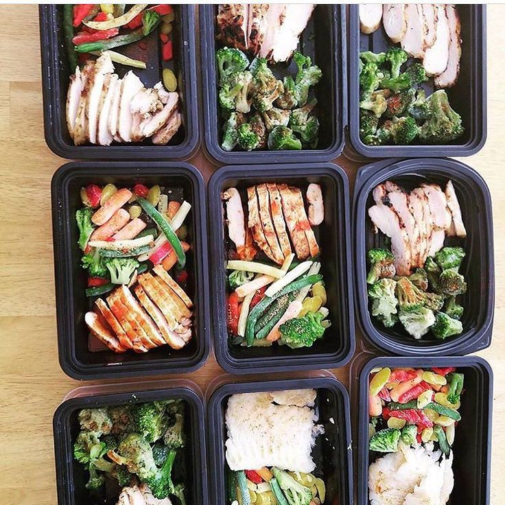 Meal prep at the beginning of the week! It's the best way to avoid eating out and keep your on track.