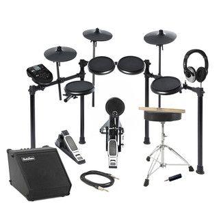 Alesis-Nitro-8-teiligesElektronik Drum Kit und Amp-Pauschalangebot auf Gear4music.de