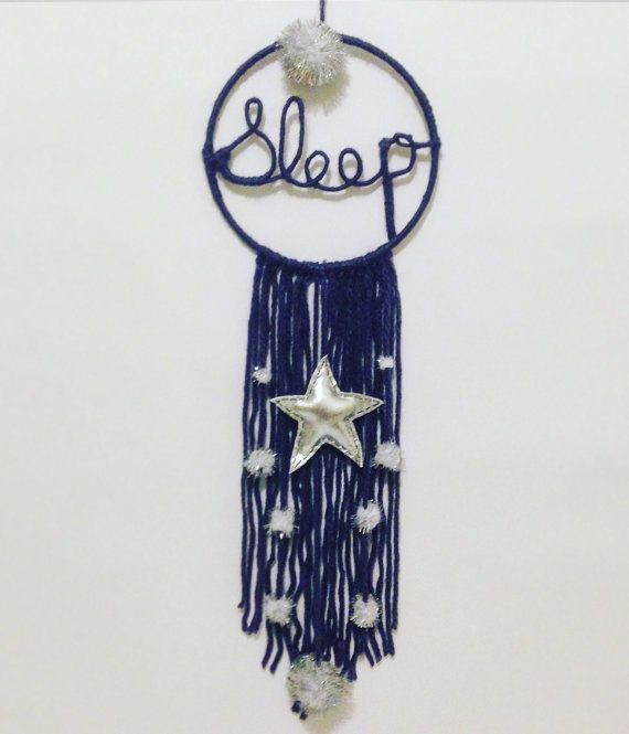 Sleep under the stars dreamcatcher wallhanging for by LilMeegs
