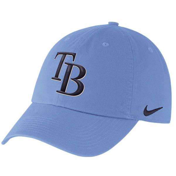 Tampa Bay Rays Nike Men's Stadium 3.0 Adjustable Hat - Light Blue - $23.99