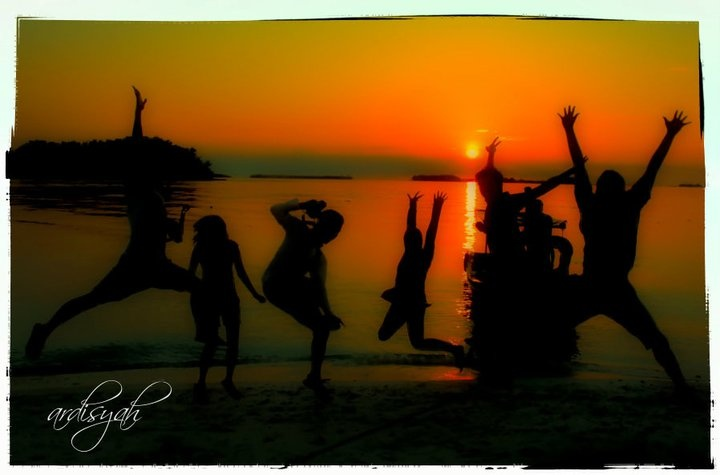 Sunset Taman Nasional Ujung Kulon