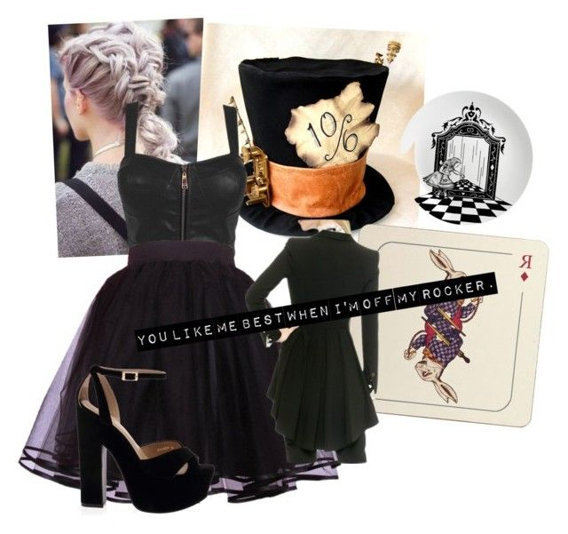 """""""Mad Hatter- Melanie Martinez"""" by cwing17 ❤ liked on Polyvore featuring Avenida Home and Eleanor Stuart"""