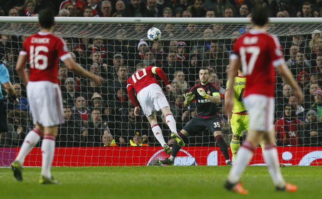 MU tidak sanggup menggetarkan gawang CSKA sampai pertandingan hampir menyentuh 80 menit. Sebelum akhirnya Rooney berhasil mencetak gol penentu kemenangan tim tuan rumah. Reuters/Jason Cairnduff.