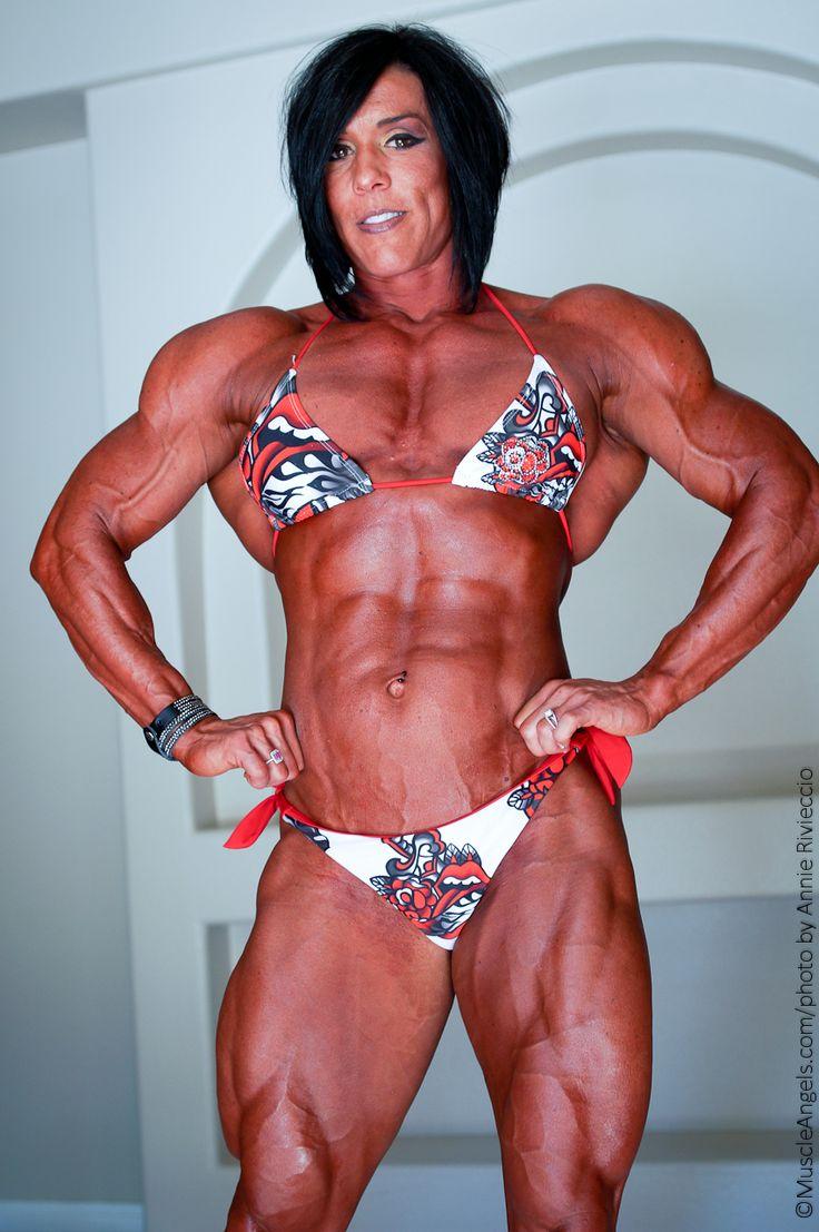 naked female muscle handjob