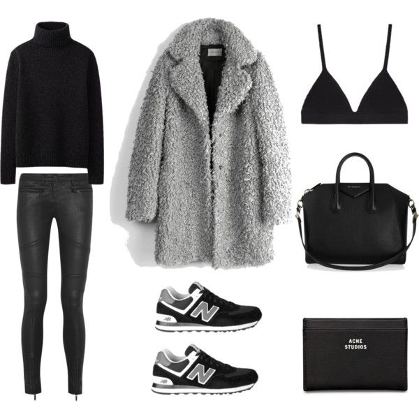 A fashion look from January 2015 featuring Uniqlo sweaters, Zadig & Voltaire coats and Karl Lagerfeld jeans. Browse and shop related looks.: