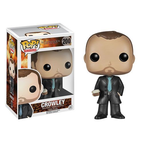 FINALLY! Supernatural Crowley Pop! Vinyl Figure - Funko - Supernatural - Pop! Vinyl Figures at Entertainment Earth