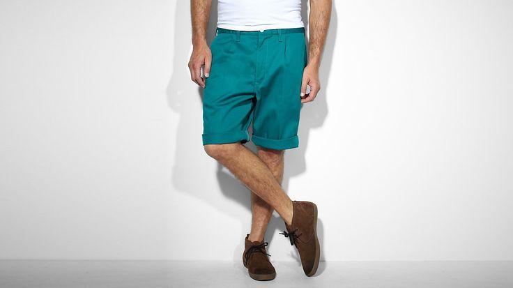 511 Slim Sta-Prest Shorts | Teal Green | Pantaloncini | Abbigliamento | Uomo | Levi's | Italy