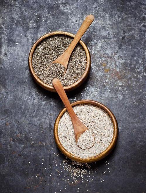 Les graines (de chanvre, de chia…)