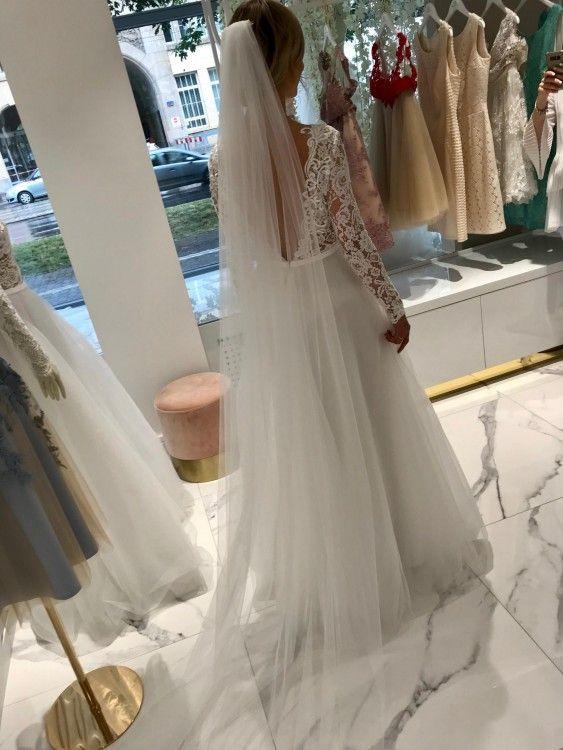 afb45efb0e Suknie - Suknia Ślubna Agnieszka Światły 2018 Cassandra - 3 000