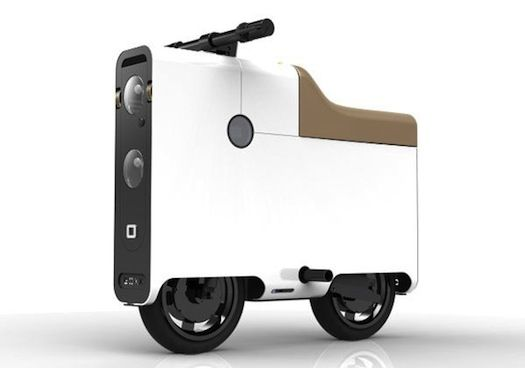 Simply dubbed the Boxx, this electric vehicle rethinks the traditional design of motorbikes with a minimalistic and stylish approach. The square bike is built using light-weight aluminum and is strong enough to support 300 pounds of weight. It can travel up to 35 miles per hour and can go 80 miles with a single charge.