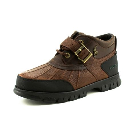 shop for mens dover 3 boot by polo ralph in brown