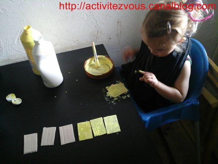 ACTIVITES: Nuances de jaune (boucle d'or et les 3 ours)