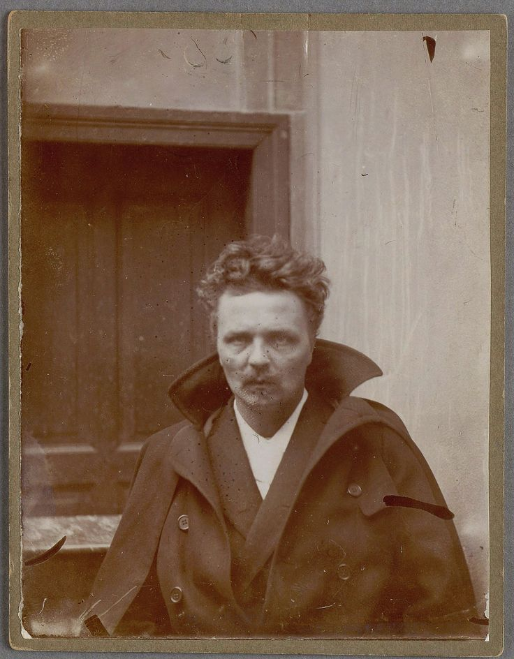 August Strindberg. Self-portrait of Swedish author August Strindberg in Berlin: photo by August Strindberg, 1892 or 1893 (National Library of Sweden)