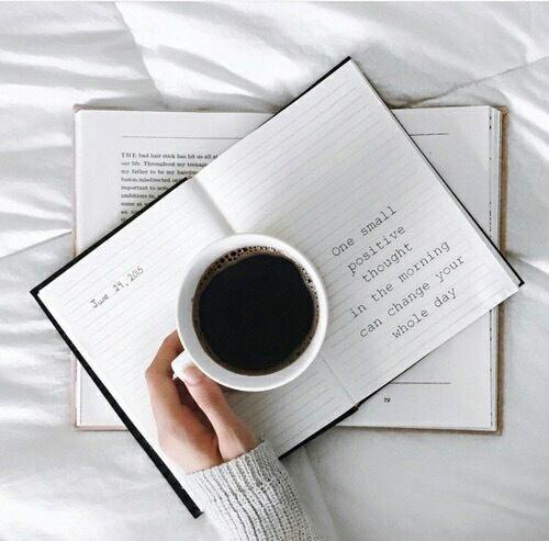 grafika coffee, book, and white