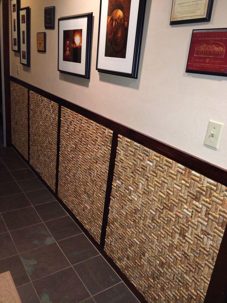 #cork My wine cork wall.