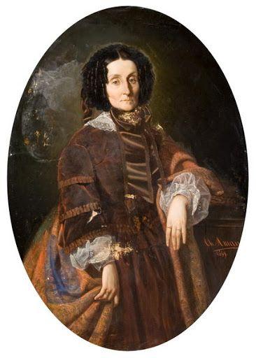 Portretul principesei Zoe Brancoveanu