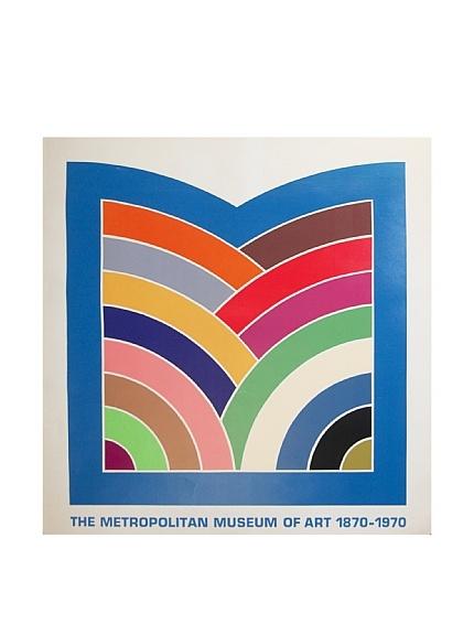 """Color bars! (Frank Stella """"The Metropolitan Museum of Art 1870-1970 Serigraph)"""