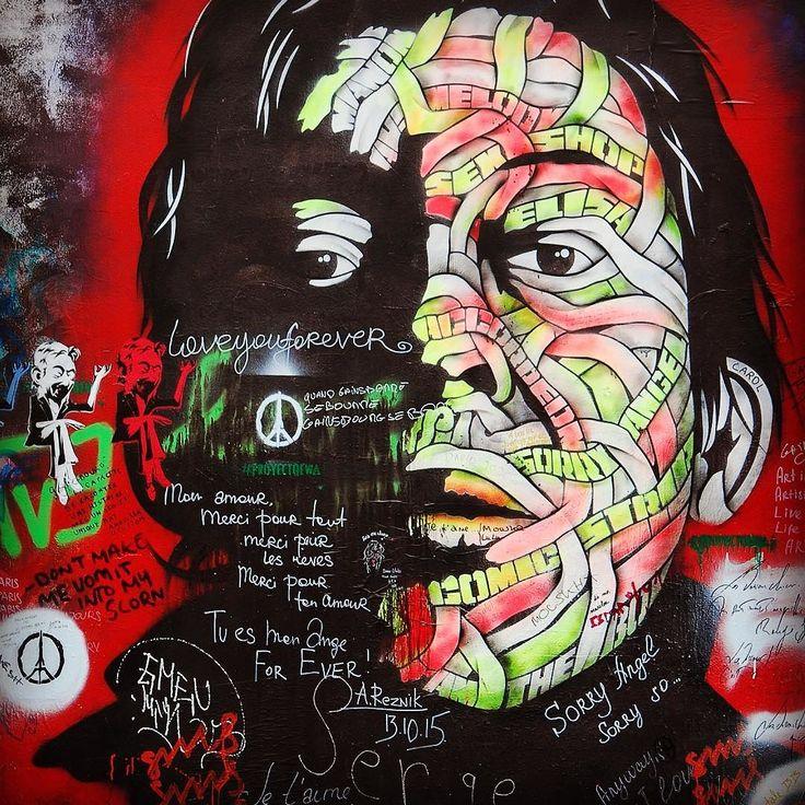 Strade di Parigi  #instagramers #instagram #instagood #instadaily #insta #in #iger #igtravel #paris #parigi #mural #arte #streetart #colors