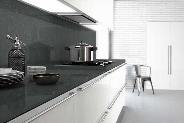 In Cimstone Worktops are made from a minimum of 93% quartz crystals, with the remaining 7% comprising the resin and bonding agents.