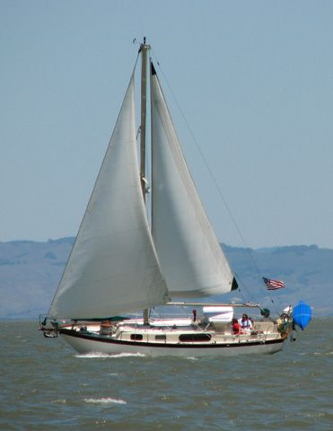 Cordelie in San Pablo Bay Posted October 4th, 2007 by Kim in Sailboats cordelie rawson 30 Image    Our Rawson 30, taken by our friends while sailing in San Pablo Bay in May of 2007