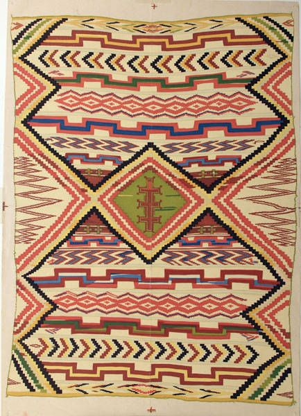 Portfolio of Navajo Blankets