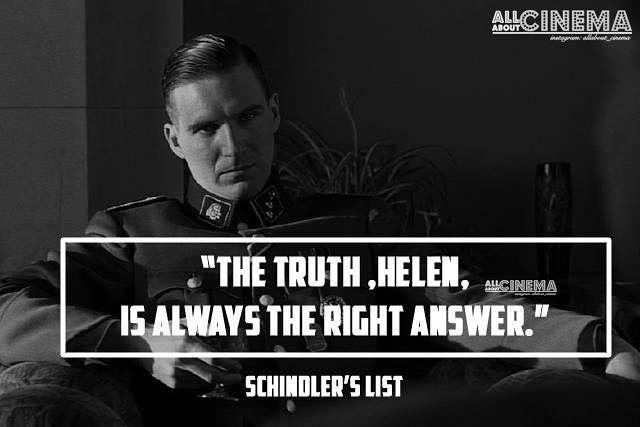 "39 Likes, 2 Comments - Watch. Love. Review (@allabout_cinema) on Instagram: ""TRUTH . SCHINDLER'S LIST IMDb 8.9/10 . . #liamneeson #schindlerslist #oscarschindler #ww2 #nazi…"""