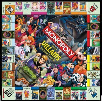 Monopoly - Villains (100 pieces)