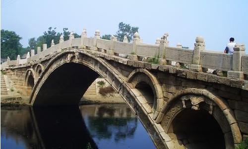 1,400-year old Zhaozhou Bridge, the world's oldest survival single arch bridge, built by Li Chun during Sui Dynasty (595 - 605) in Hebei Province near Beijing.  https://plus.google.com/+Simplifyyourlifepluschina/posts/a6dFsKXdjqr