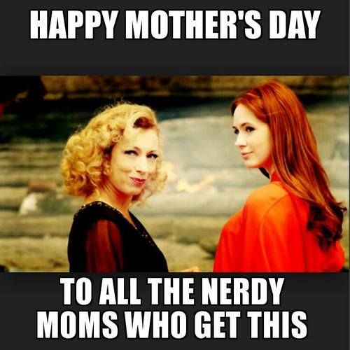 Amelia Pond & River Song/Melody Williams ~mother & & daughter....i friggin love them both...probably why amy is my favorite companion
