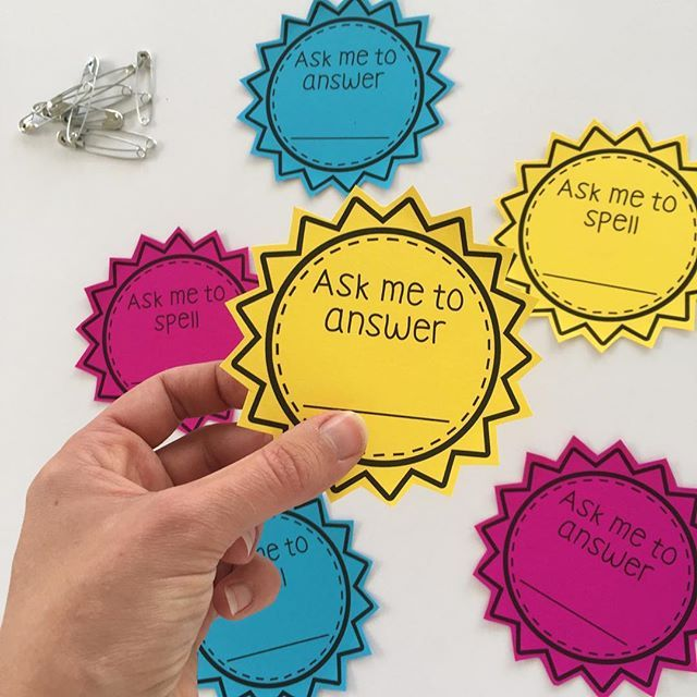 Have you seen our latest freebie? They are great end of the term task  Give each student a laminated badge to pin to their collar or wear on a lanyard to practise anything they still need to master. Fluency made fun!!!