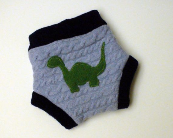 Dinosaur Wool Diaper Cover Babies and by allisonbCOLLECTION