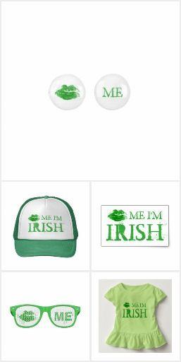 Kiss Me I'm Irish St. Patrick's Day Gear
