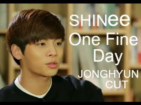SHINee One Fine Day - Jonghyun cut [Eng sub]