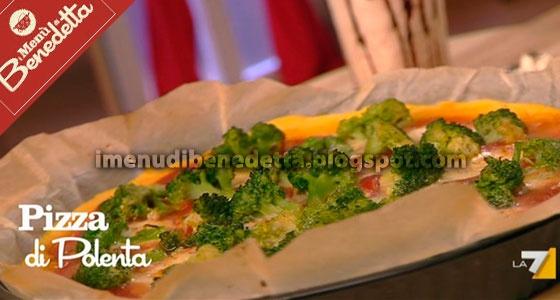 Pizza di Polenta di Benedetta Parodi