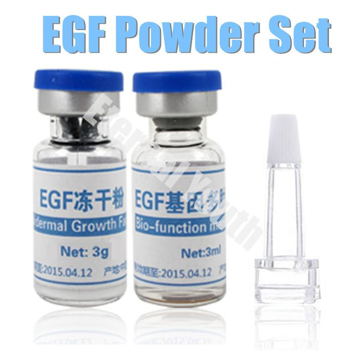 One Set EGF Lyophilized Epidermal Growth Factor rhEGF Powder  Serum Acne Pimples Scars Wrinkles Treatment Skin Care Products