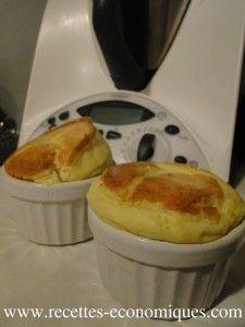 recette du soufflé au thermomix (gruyère roquefort)