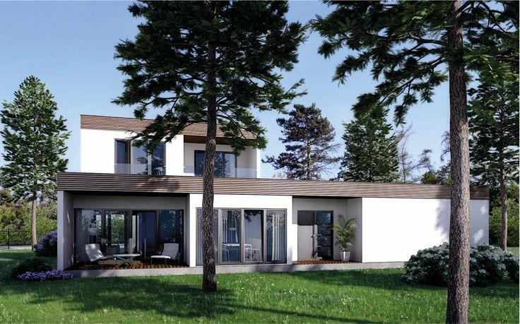 Spojení dokonalého domu s přírodou? Ano, jde to :) Náš rodinný dům Goopan LG203 svým designem zapadá krásně i do míst, které jsou spojeny s přírodou více než bývá zvykem na klasickém pozemku :) S dispoziční velikostí 4+kk a podlahovou plochou 181,7 m2 si tento dům zaslouží pozornost každého, kdo hledá velmi hezké, komfortní a nízko nákladové bydlení, pro sebe a svojí rodinu :) Podívejte se i na další modely na www.goopan.cz